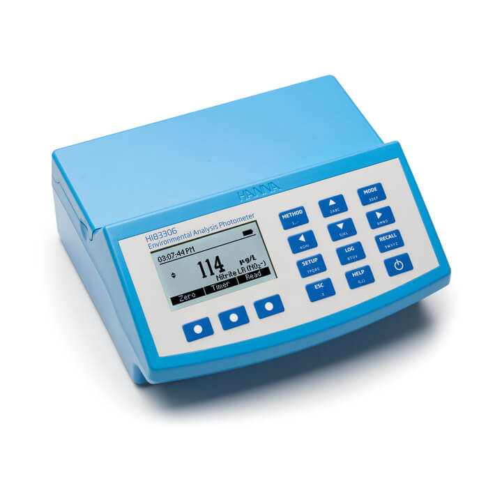 Fotómetro para análisis ambiental